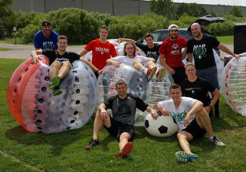 Knockerball Minnesota Company Team Bonding